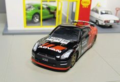 Greenlight advan tarmac works Nissan gt-r