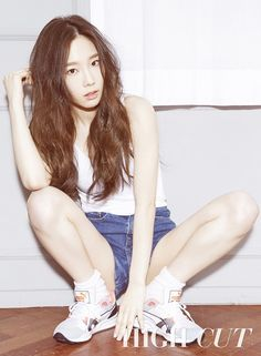 girls generation Taeyeon HIGH CUT #SNSD #GG #Taeyeon