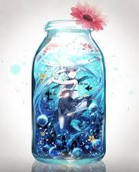 anime in a bottle - Google Search