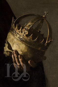 Detalle de San Francisco de Borja, por Alonso Cano. Año 1624 Sala IV