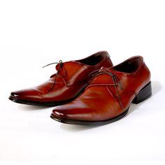 Buy Side Lace Brogue @INR2730- Pride's Walk #FormalShoes #MensShoes #BrownShoes #MenFormalShoes