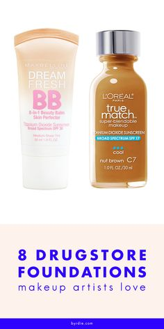 The drugstore foundations top makeup artists swear by