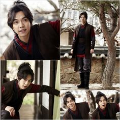 Lee Seung Gi (Choi Kang Chi) Stills from Gu Family Book 1st Filming (14 March 2013)