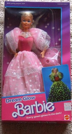Dream Glow Barbie from the 80's
