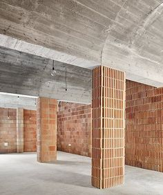 aulets arquitectes' vaulted brickwork reflects the architecture of mallorca