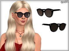 Cat Eye Smoke Lens Sunglasses by OranosTR at TSR • Sims 4 Updates