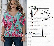 Летние блузы-туники. Выкройки