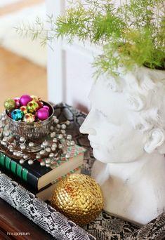 Hi Sugarplum | Christmas Home Tour 2014, using treasures found at Home Goods