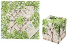 Tree house furoshiki