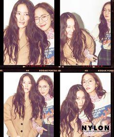 Jessica and Krystal 2018 Jessica & Krystal, Krystal Jung, Jessica Jung, Seohyun, Snsd, Kodak Portra, Sulli, These Girls, Nayeon