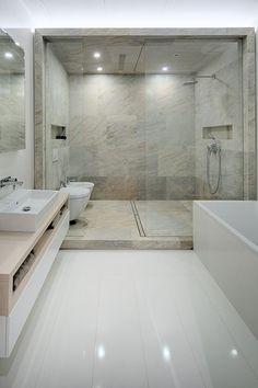 suite parentale et salle de bain moderne