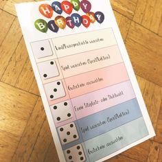 """#geburtstagsritual  in meiner 5./6. Klasse! Das Geburtstagskind darf an seinem """"Geburi""""  würfeln & ein kleines Geschenk aus einer Box…"""