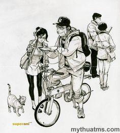 Kim Jung Gi 26 Figure Painting, Figure Drawing, Junggi Kim, Art Sketches, Art Drawings, Jordi Bernet, Kim Jung, Detailed Drawings, Korean Artist