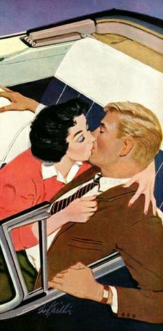 A Surprise Kiss! ~ Fritz Willis, 1957