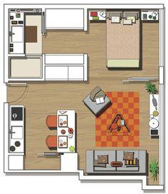 El espacio parece multiplicarse en este apartamento que tiene de todo, decorado en estilo moderno y joven. Su fórmula: una reforma con ideas brillantes.