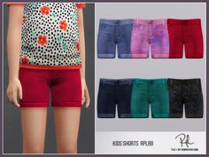 :: 6 swatches Found in TSR Category 'sims 4 Female Child Everyday' Sims 4 Toddler Clothes, Toddler Dress, Toddler Outfits, Kids Outfits, Kids Shorts, Gym Shorts Womens, Sims 4 Clothing, Female Clothing, Glitter Shirt