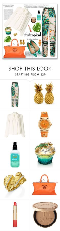 """Maui, Hawaii"" by seafreak83 ❤ liked on Polyvore featuring Emilio Pucci, Somerset by Alice Temperley, Versace, Bumble and bumble, House of Sillage, Estée Lauder and Too Faced Cosmetics"