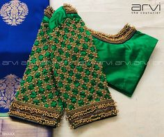 Most up-to-date Photographs Coloring Design blouse Popular Color a website is no. - Most up-to-date Photographs Coloring Design blouse Popular Color a website is not information on ho - Cutwork Blouse Designs, Wedding Saree Blouse Designs, Fancy Blouse Designs, Blouse Neck Designs, Dress Designs, Blouse Patterns, Hand Work Blouse Design, Stylish Blouse Design, Bridal Lehenga