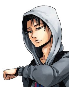 OMG LEVI SO SEXY AWWW I'M MELTING *____*