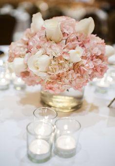Wedding reception centerpiece idea; Featured Photographer: Chelsea Brown Photography