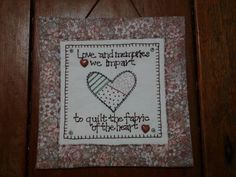 Hugs 'n Kisses Hugs N Kisses, Red Rooster, English Paper Piecing, Applique, Memories, Quilts, Embroidery, Frame, Fabric
