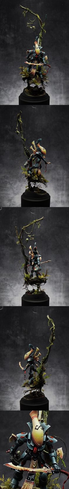 40k - Eldar Wraithguard in the Jungle by dre4mit
