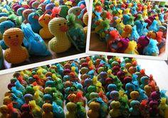 Doopsuiker-eendjes  pattern by Sandra Hawlik