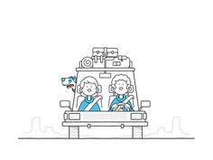 Mailbox animations on Behance