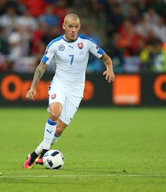 #EURO2016 Vladimir Weiss of Slovakia during the UEFA EURO 2016 Group B match between Slovakia v England at Stade GeoffroyGuichard on June 20 2016 in...