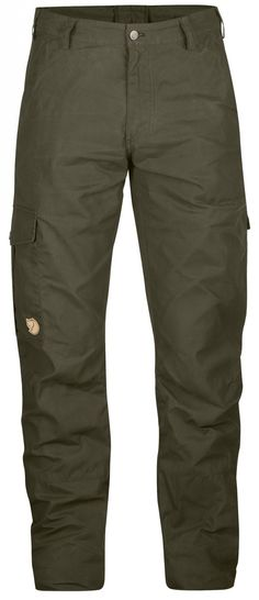 Fjallraven Men's Ovik Trousers - Comfortable and durable trousers that have all the requirements necessary to become everyday favourites. Just as suitable as relaxed work trousers as for when you decide to take a jaunt in the forest on the way home.