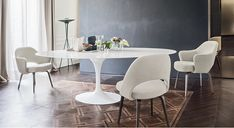 Design Icon: Knoll Saarinen Tulip Large Dining Table – Oval.jpg