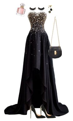 """""""Untitled #51"""" by lunita2 ❤ liked on Polyvore featuring Cerasella Milano, Chloé and Guerlain"""