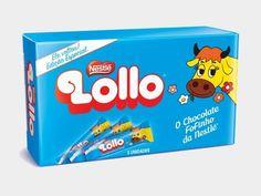 Lollo, famoso chocolate da década de 80 relançado pela Nestlé