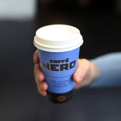 Caffe Nero Cup in our famous shade of blue