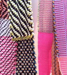 Bandes à part / Hélène Lefeuvre / textile / weaving