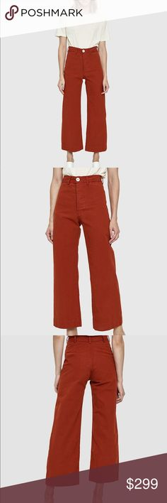 eb6df56931ced JESSE KAMM Iron Oxide Sailor Pant Size 4. Bought at retail for  395.  Looking for size 2 in same color or to sell. No trades Message me for info  on how to ...