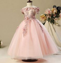 Cheap girls dress, Buy Quality dresses for girls directly from China dress a Suppliers: 2017 Shoulderless first communion dresses for girls Vestido Daminha Casamento Luxury Ball Gown Pink Organza Flower Girl Dresses Prom Dresses Uk, Wedding Flower Girl Dresses, Ball Dresses, Ball Gowns, Girls Dresses, Flower Girls, Party Dresses, Short Dresses, Satin Dresses