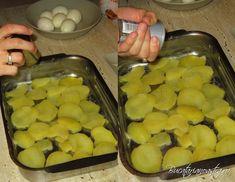🏆 Cartofi franțuzești rețetă originală - Cartofi la cuptor Cheesecake, Potatoes, Vegetables, Food, Cheese Cakes, Potato, Veggie Food, Vegetable Recipes, Cheesecakes