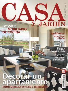 Revista CASA Y JARDIN 433. Decorar un #apartamento. Dossier: #mobiliario de cocina.