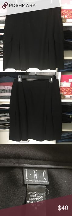 Inc Skirt Previously worn but in excellent condition! Open to reasonable offers through feature! No trades INC International Concepts Skirts