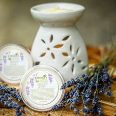 Lavender flower and its extracts have been used, both internally and by olfaction, for centuries as a treatment for mild anxiety and mild depression. Research is suggesting that fragrant compounds present in lavender can lessen anxiety by stimulating the nose to pass signals to the brain.   I've been working with Lavender for the past couple of days and while I'm generally a relatively chilled out person, I find a boost of Lavender is really grounding or earthing to me. Aroma Diffuser, Diffuser Blends, Natural Candles, Soy Candles, Wonderful Flowers, Lavender Flowers, Pure Essential Oils, Anxiety