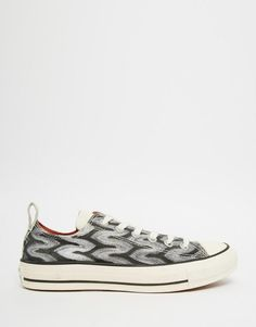 Converse Star Player OX Plain Canvas Trainers at John Lewis