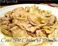 All Day Creamy Dreamy Chicken and Noodles is one of the best chicken slow cooker recipes for a weeknight meal. This simple slow cooker chick...