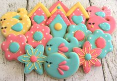 Spring / Bird Themed Cookies