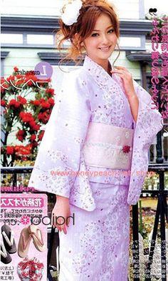Purple Kimono by honeypeach2009, via Flickr