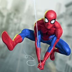and to complete the trio, the Spiderman himself. Character art done for Marvel. Spiderman Poses, Spiderman Pictures, Spiderman Art, Amazing Spiderman, Best Marvel Characters, Marvel Comic Character, Character Art, Avengers Art, Marvel Art