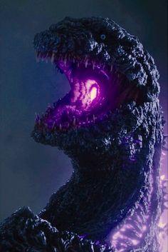 The breath effect in Godzilla Resurgence / Shin Gojira