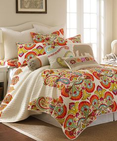 Look at this Windsong Quilt Set on #zulily today!