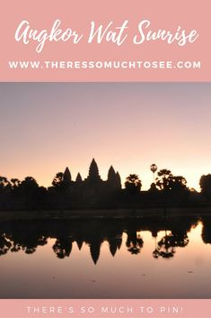 Angkor Wat Sunrise -