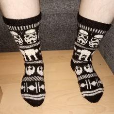 Knitting Charts, Knitting Socks, Hand Knitting, Knitting Patterns, Star Wars Crochet, Knit Crochet, Rebel Alliance, Tie Fighter, Tricot